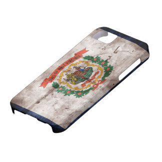 Old West Virginia Flag iPhone SE/5/5s Case