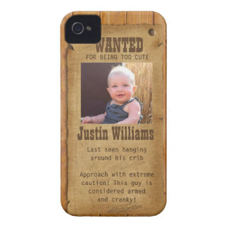 Old West Wanted Poster iPhone 4 Case-Mate Case
