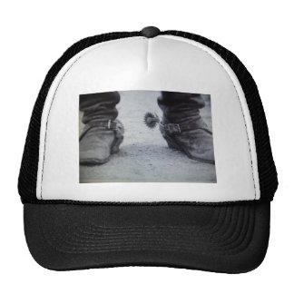 old western boot(Black&White photo) Trucker Hat