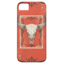 Old Western Cow Skull iPhone SE/5/5s Case