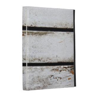 Old white boards iPad folio case