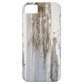 Old white paint wooden wall texture iPhone SE/5/5s case
