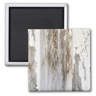 Old white paint wooden wall texture magnet