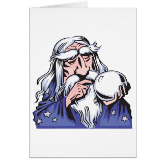old white wizard merlin cards