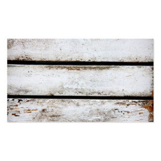 Old white wood Double-Sided standard business cards (Pack of 100)