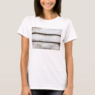 Old white wood T-Shirt