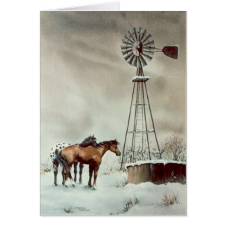 OLD WINDMILL by SHARON SHARPE Cards