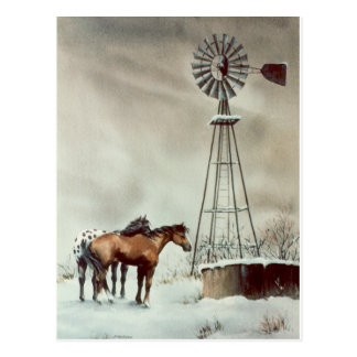 OLD WINDMILL by SHARON SHARPE Post Card