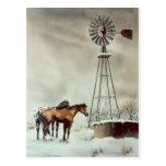OLD WINDMILL by SHARON SHARPE Postcard