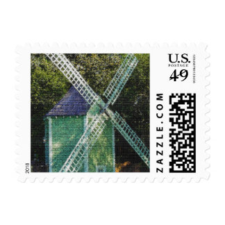 Old Windmill Postage