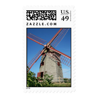 Old Windmill Stamp