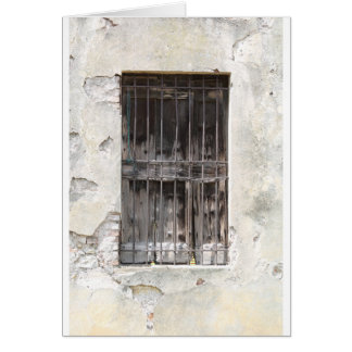 old window card
