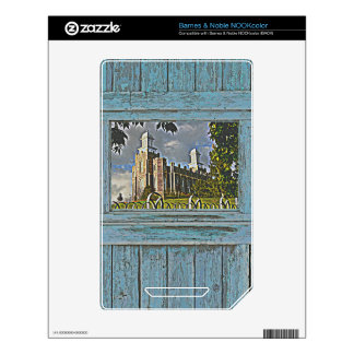Old window Logan temple 2 Skin For NOOK Color