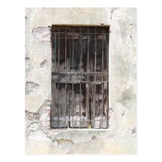 old window postcard
