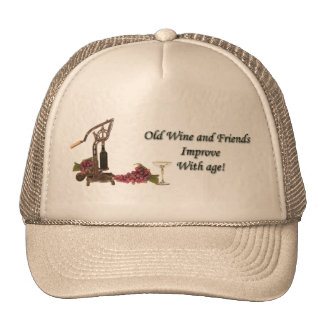 Old Wine and Friends Hat