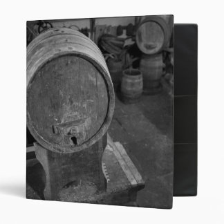 Old wine barrels binder