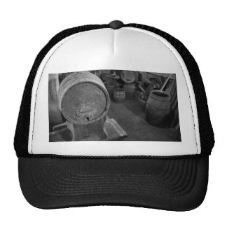 Old wine barrels hats