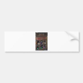 old wine cabinet bumper stickers