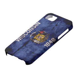 Old Wisconsin Flag iPhone SE/5/5s Case