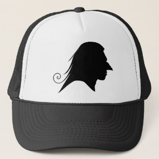 Old Witch Silhouette Trucker Hat