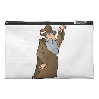 old Wizard cartoon. Travel Accessory Bag