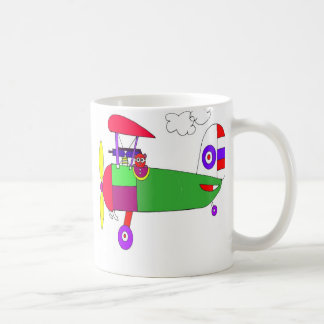 old wold war 1 airplane  coffee mug