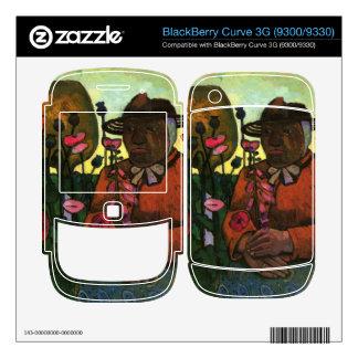 Old Woman in the garden by Paula Modersohn-Becker BlackBerry Curve Decals
