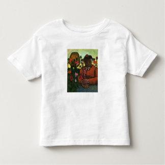 Old Woman in the garden by Paula Modersohn-Becker Tee Shirt