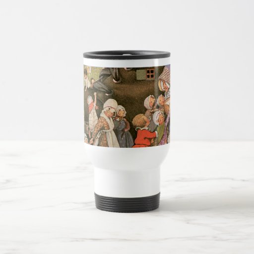 Old Woman in the Shoe Travel Mug