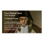 Old Woman Reading,  By Rembrandt Harmensz. Van Business Card Template
