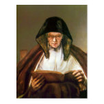 Old woman, reading by Rembrandt Postcards