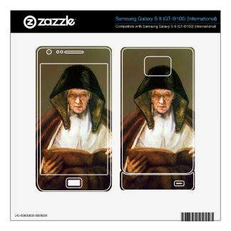 Old woman reading by Rembrandt Samsung Galaxy S II Skin