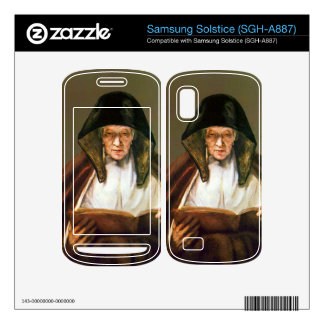 Old woman reading by Rembrandt Samsung Solstice Skin