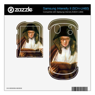 Old woman reading by Rembrandt Samsung Intensity Decals