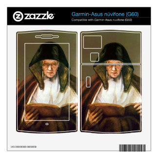 Old woman, reading by Rembrandt Garmin Asus Nuvifone Skin