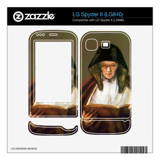 Old woman reading by Rembrandt LG Spyder II Skin
