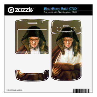 Old woman, reading by Rembrandt Decals For BlackBerry