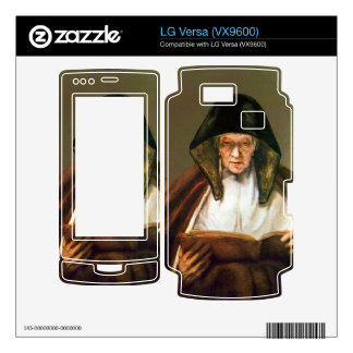 Old woman reading by Rembrandt Skin For LG Versa