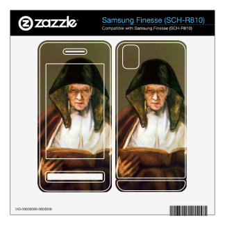 Old woman reading by Rembrandt Samsung Finesse Decals
