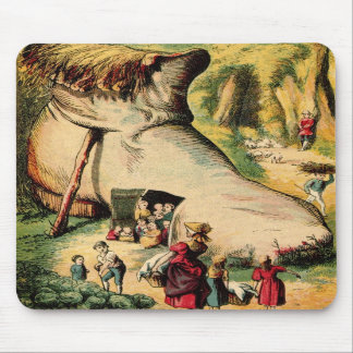 Old Woman Who Lived in a Shoe, Mousepad