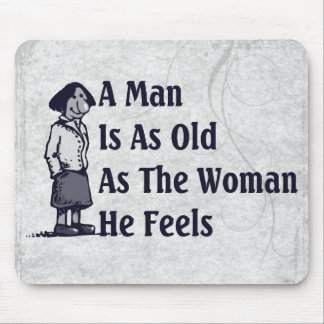 Old Women? Mouse Pad
