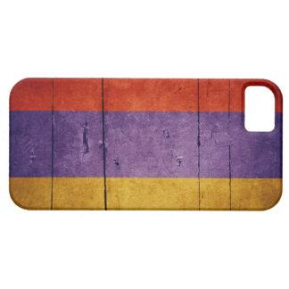 Old Wood Armenia Flag iPhone 5 Case