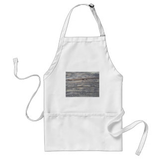 old wood background: create your own,  your text adult apron