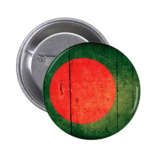 Old Wood Bangladesh Flag Pins