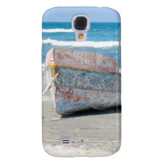OLD WOOD BOAT 1083 PHOTOGRAPHY OCEAN TRANSPORTATIO GALAXY S4 CASE