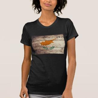 Old Wood Cyprus Flag T-shirts