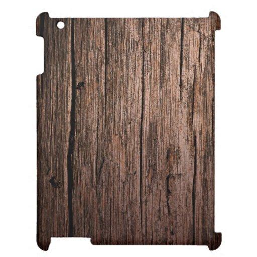 Old Wood Grain iPad Case
