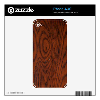 Old Wood Grain iPhone 4S Decal