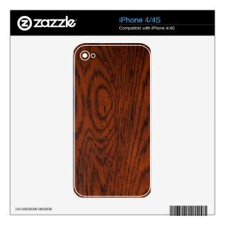 Old Wood Grain iPhone 4S Skin