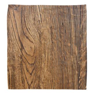 Old wood grain look bandana